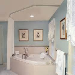 Shower Curtain For Corner Bath curtain rod for corner garden tub