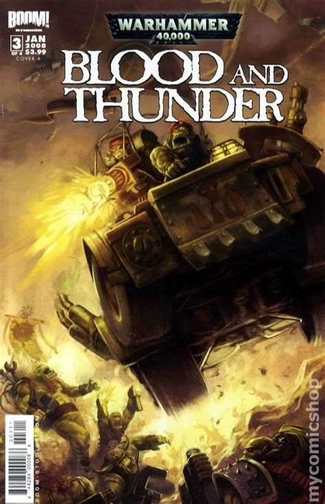 Blood And Thunder Warhammer 40000 warhammer 40k blood and thunder 2007 comic books