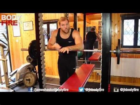 james haskell bench press how bench press youtube
