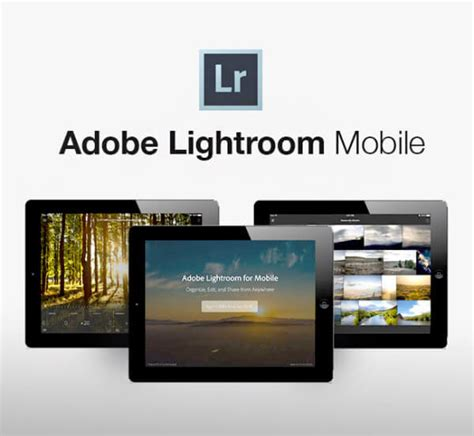 light room mobile tout savoir sur lightroom mobile tuto