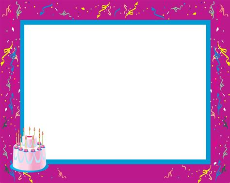 happy birthday photo frame template 16 happy birthday frames psd images happy birthday