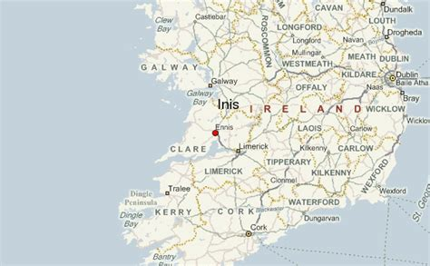 map of ennis ennis ireland location guide