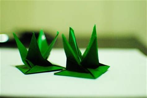 How To Make Paper Grass - your origami photos
