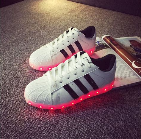 Sepatu Adidas Superstar Gold unisex 2186 simulation led shoes shoes shoe boot and pumps