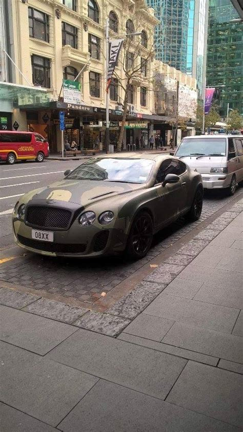 bentley camo camouflage bentley spotted in auckland zealand it