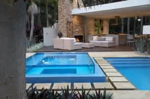 resort style living contemporary pool sydney by dean herald rolling stone landscapes