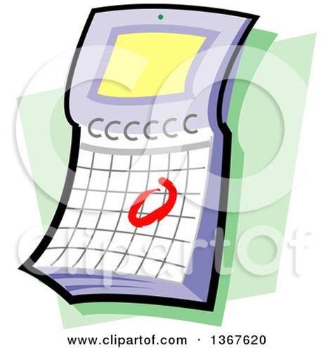 flip over desk calendar royalty free rf design elements clipart illustrations