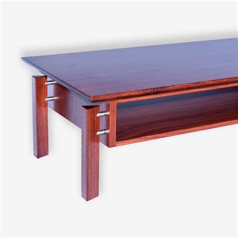 Matra Coffee Table In Jarrah Treeton Fine Wood Studio Jarrah Coffee Table