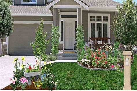 gardening ideas for front yard cheap landscaping ideas for front of house greenvirals style