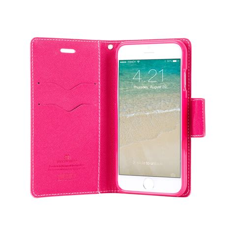 Goospery Iphone 6 Fancy Diary Wallet goospery fancy diary yellow pink for apple iphone 6 plus
