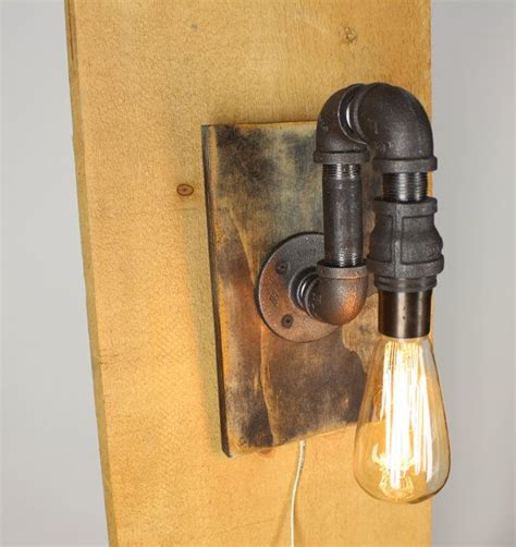 Pipe Wall Sconce black pipe wall sconce light