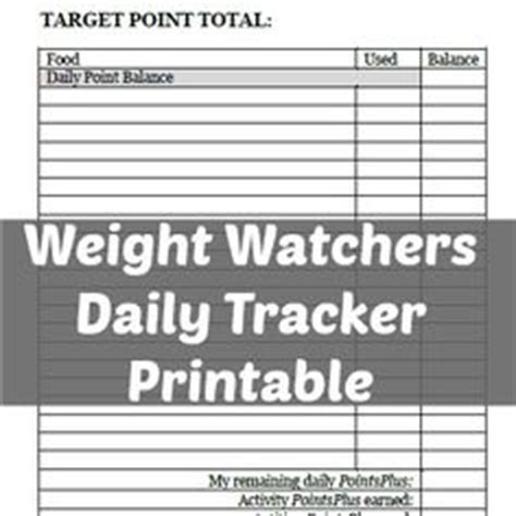 free printable homemaking journal printable weight watchers point book weight watchers