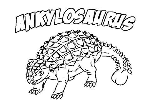 ankylosaurus coloring pages dinosaurs pictures and facts