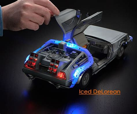 future gadgets gadgets for men back to the future iced delorean collector set amazing gadgets to buy coolest
