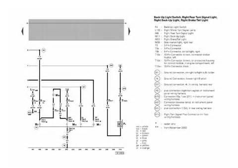 repair guides passat standard equipment from october 2000 2002 passat standard