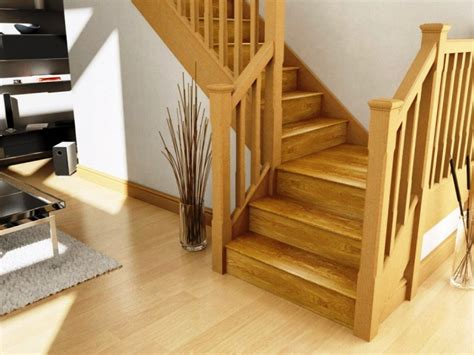types of banisters stair stair design idea with oak wood treads and handrail