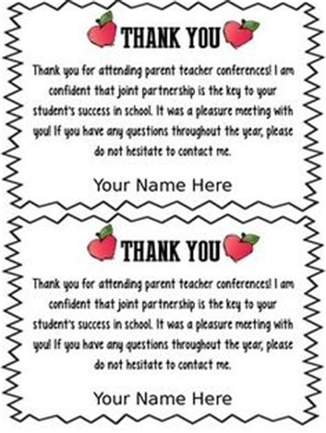 Thank You Letter Kindergarten Sle 1000 Images About Parent Letters On Parent Conferences Report Card