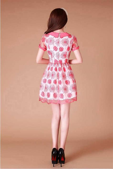 Minidress Jeslyn Ready 4 Warna mini dress motif bunga cantik 2015 model terbaru jual murah import kerja