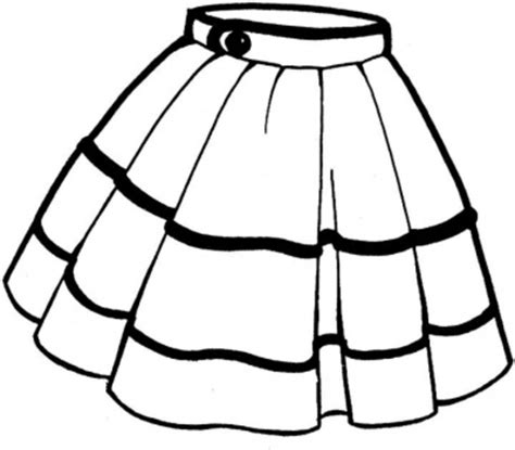 Skirt Clipart Black And White skirt free images at clker vector clip