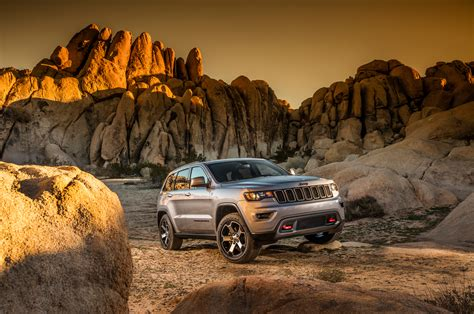 2017 Jeep Grand Cherokee Trailhawk Review First Drive