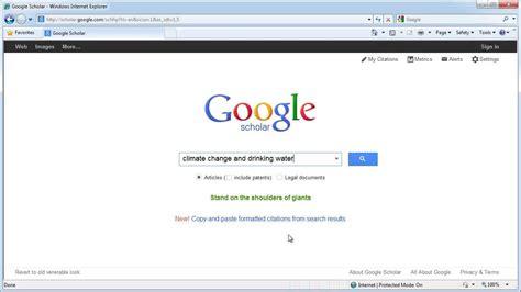 google scholar  find full text articles  csun youtube