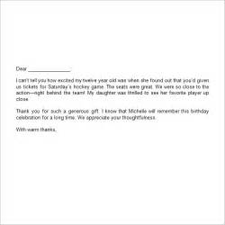 best photos of personal thank you letter templates