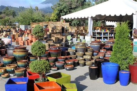 Sloat Garden Center Hours by Pictures From This Year S Pottery Sle Sale Sloat