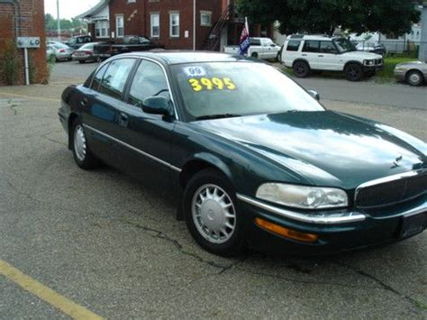 transmission control 1999 buick park avenue on board diagnostic system sell used 1999 buick park avenue base sedan 4 door 3 8l in canton ohio united states