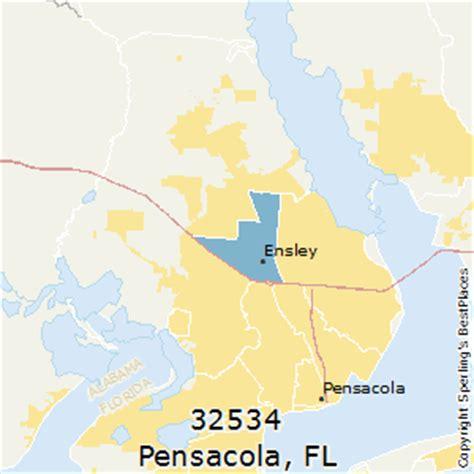 zip code map pensacola fl best places to live in pensacola zip 32534 florida