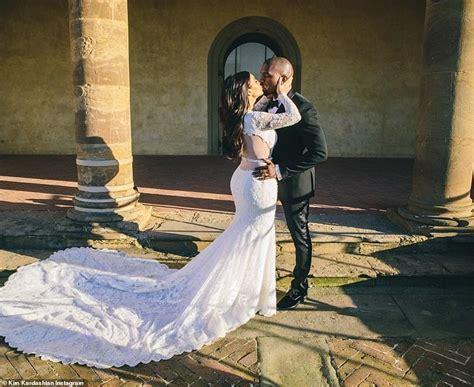 Kim Kardashian and Kanye West's five year wedding