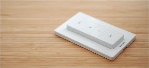 philips hue light switch how to control your philips hue lights with the hue dimmer