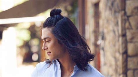 memanjangkan rambut  pria  trik jitu