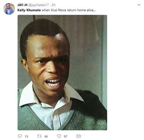 kelly khumalo trends  vusi novas hijack ordeal okmzansi