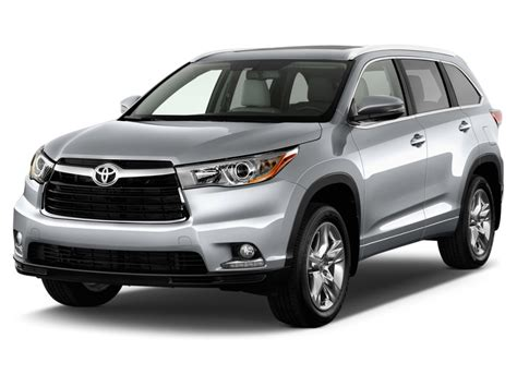 toyota highlander 2015 2015 toyota highlander pictures photos gallery