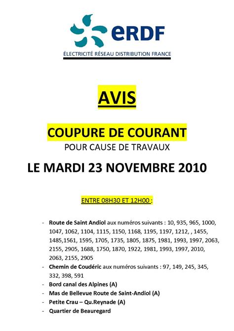 Coupure Courant Qui Appeler 3100 by Coupure Courant Qui Appeler Coupures De Courant Coupure