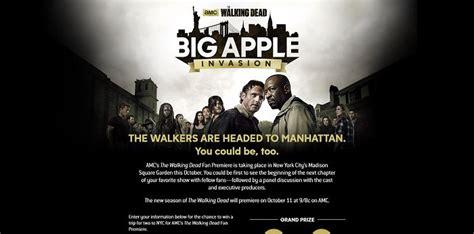 The Walking Dead Fan Sweepstakes - coxbigapplesweeps com the walking dead big apple invasion sweepstakes