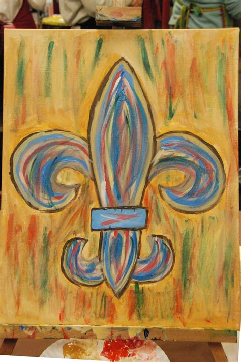 paint with a twist in frisco 299 best images about kappa and fleur de lis on