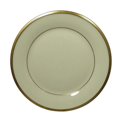 gold pattern trim lenox china pattern eternal gold trim bread butter plate