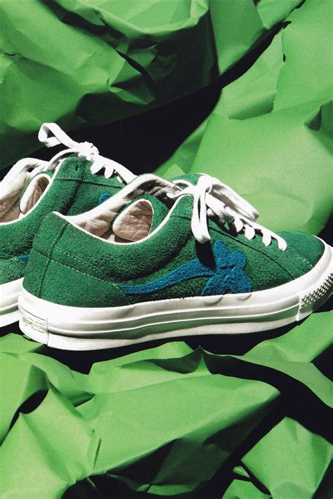 Sneakers Converse One X Golf Le Fleur Green Bnib converse x golf le fleur unveil lookbook for new capsule collection pause s