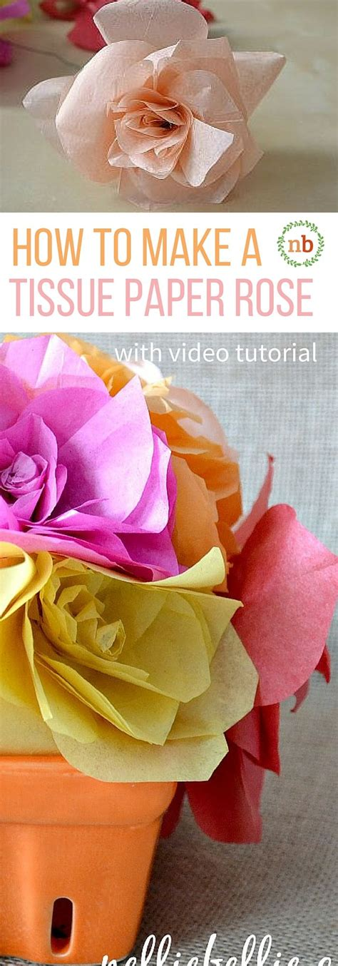 Roses Out Of Tissue Paper - 17 best ideas about tissue paper roses on
