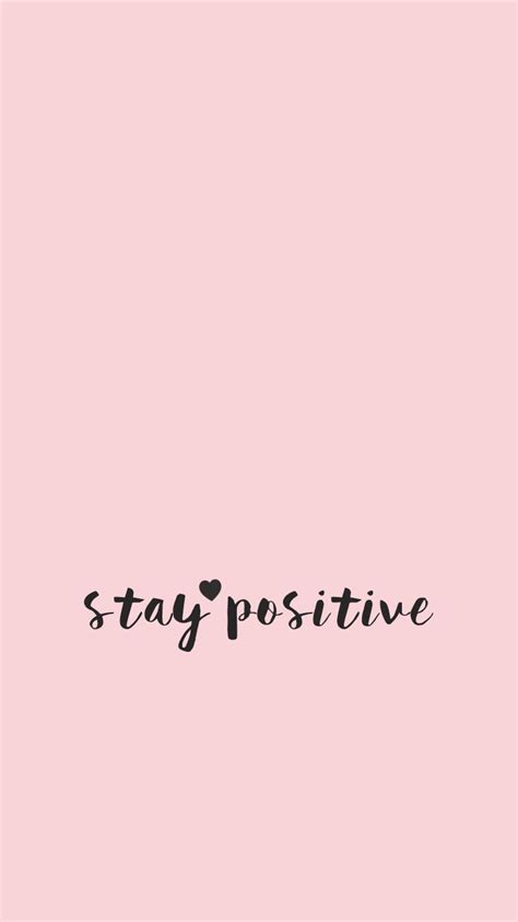 wallpaper tumblr positive wallpaper minimal quote quotes inspirational pink