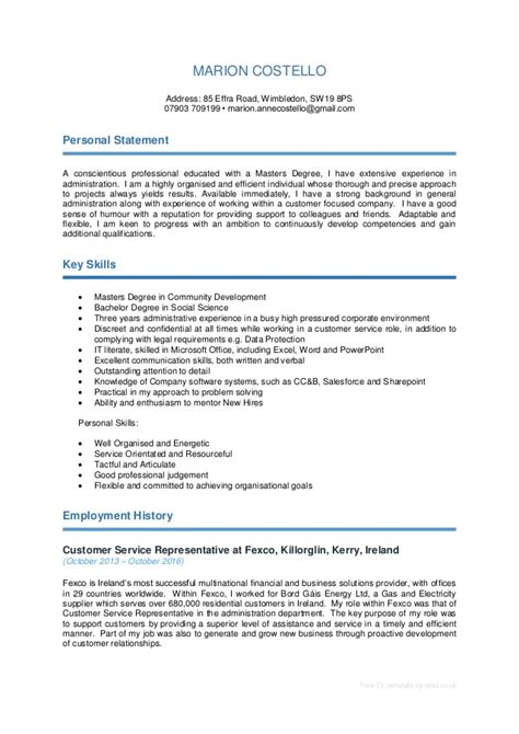 cv template download reed marion costello 22 10 2016