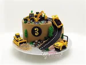 construction site cake cake by cynthia jones cakesdecor