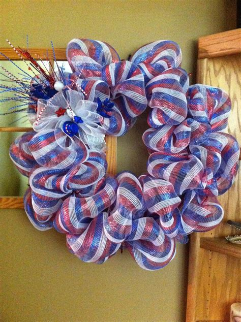 deco mesh wreaths diy fourth of july wreaths wreath 4th of july deco mesh
