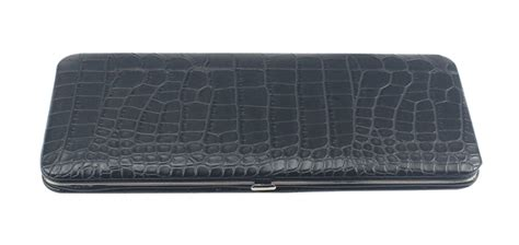 New Arrival Longch Snake Print Small Bag Rt black snake skin print leather flat wallet