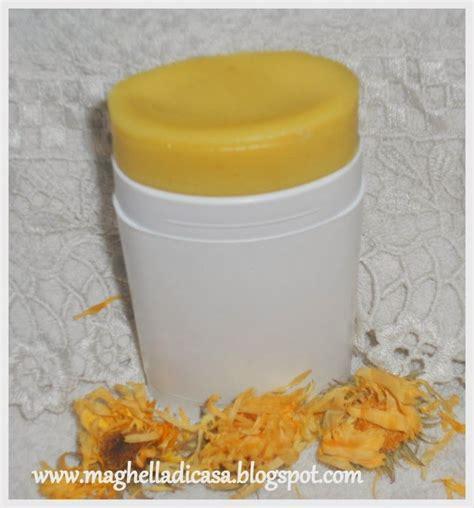 maghella di casa maghella di casa deodorante in stick fai da te prodotti