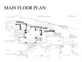 frank lloyd wright falling water floor plan casestudy of falling water