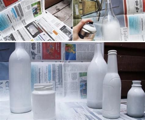 como decorar botellas en vidrio c 243 mo decorar botellas de vidrio con servilletas 5 pasos