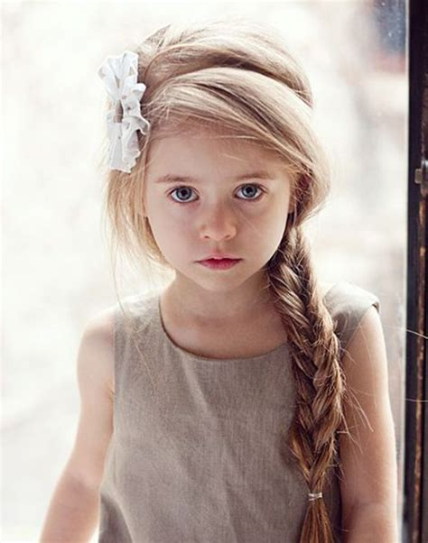pictures of girl hairstyles with blond on top and dark bottom 17 best ideas about little girl hairstyles on pinterest