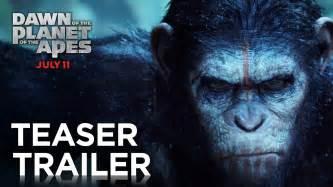 awn of the planet of the apes of the planet of the apes official teaser trailer